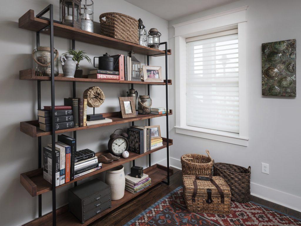 Cameron Harbor bookshelves