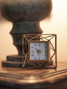 Cameron Harbor clock detail