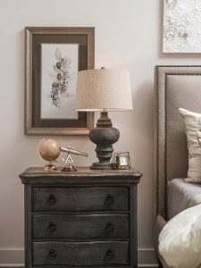 Cameron Harbor nightstand detail